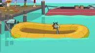 Maggot raft