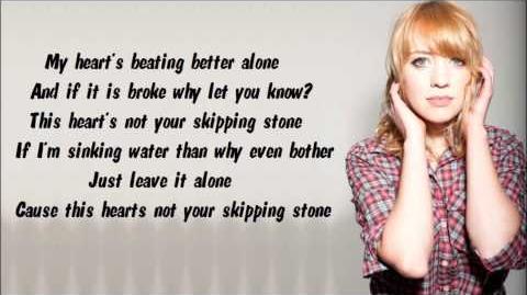 Alexz Johnson - Skipping Stone (Lyrics Video)-0