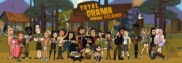 File:Total Drama Drama Island Group Pic.png