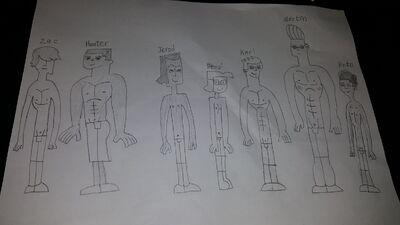 TDtAL Boys swimsuit design