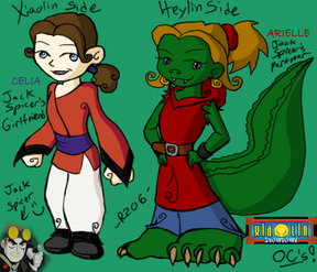 Xiaolin Showdown OCs by R2ninjaturtle