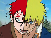 Gaara vs naruto by destino1979