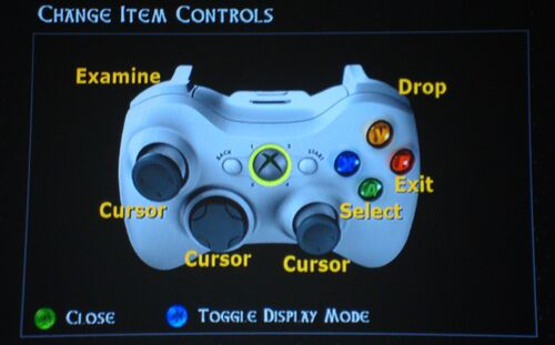 Change Item Controls