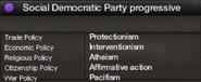 Social Democratic Party of Rwanda progressive views