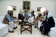 Reagan and Mujahideen