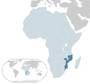 Mozambique location