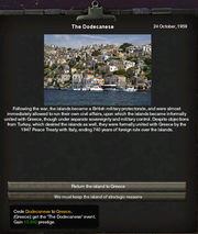 Return of the Dodecanese