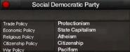 Social Democratic Party of Rwanda views