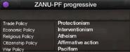 ZANU-PF progressive views