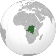 DR Congo location