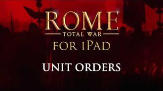 ROME Total War™ for iPad – How to triumph (Unit Orders)