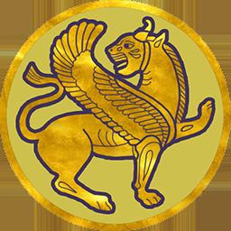 Sassanid empire flag