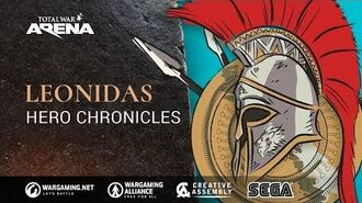 Total War Arena - Hero Chronicles Leonidas