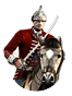 Colonial light cavalry icon