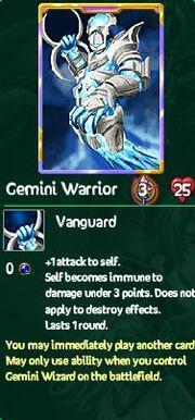 Gemini warrior