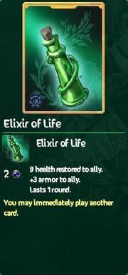 Elixer of life