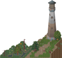 The Cliff-Lighthouse Area