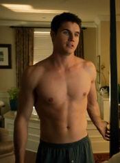 AJ bare chest