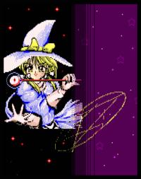 Marisa's alternate color in PoDD