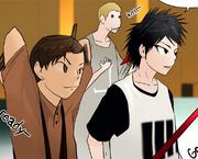 Shopin's team