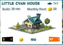 Little Cyan House