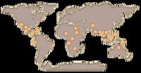 Crocodile map