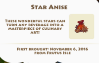 Star Anise Artifact