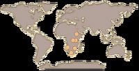 Zebra map