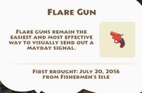 Flare Gun Artifact