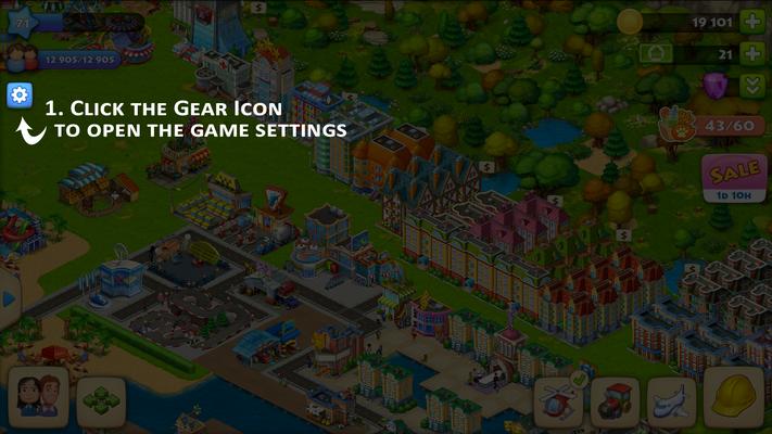 1 Gear Icon