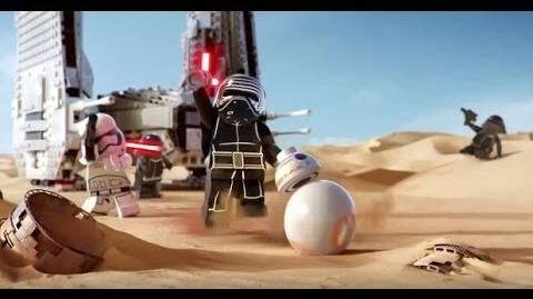LEGO Star Wars The Force Awakens 2015 Commercial