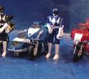 Battle Bikes (Mighty Morphin Power Rangers)