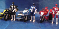 Battle Bikes (Mighty Morphin Power Rangers)