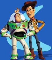 Woody and Buzz from Toy Story 2