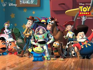 Toy story character page