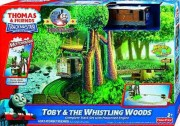 180px-Fun Childrens railway Fisher Price toy train set Thomas & friends Toby's whistling Woods Ride