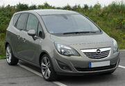 Opel Meriva B 1.4 ECOTEC Innovation front 20100907