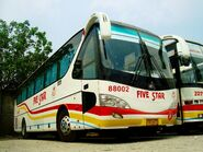 Five Star Bus Company Incorporated - Yutong ZK6119HA - 22002