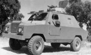 1977 BRAVIA Comando V8 4X4 Armoured car