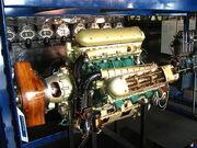 Napier Lion engine at Science Museum