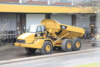Cat 740 - ADT at Finning UK - cannock 2011 - IMG 6776