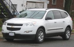 Chevrolet Traverse LS 1 -- 11-13-2009