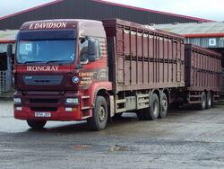 ERF 6 wheeler&drag