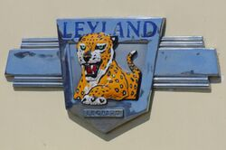 Leyland Leopard badge