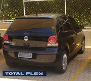 BSB Flex cars 89 09 2008 VW Polo Total Flex logo & blur