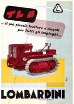 Lombardini TL 8 crawler brochure
