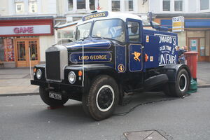 Howard Brothers Scammell Higwayman - CWE 757H - Lord George at Llandudno 09 IMG 8872