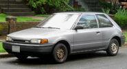 Mazda 323 hatch front