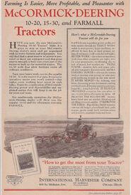 1930 15-30 colour advert