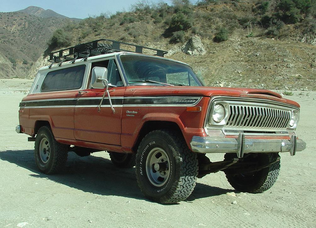 Jeep Cherokee (SJ)   Tractor & Construction Plant Wiki ...